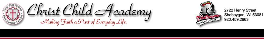 Christ Child Academy header image