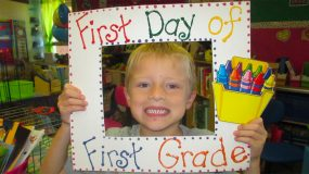 First Day Of School Kid