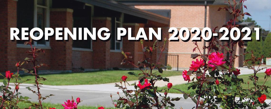 Reopening Plan 2020-2021